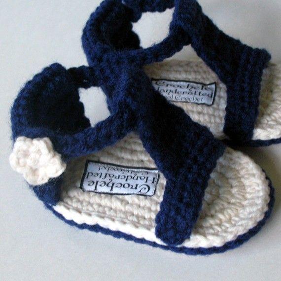 Instant Immediate Digital Download Baby Gladiator Sandal Crochet