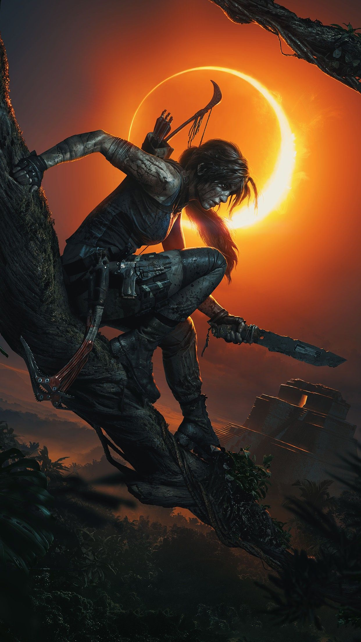 Shadow Of The Tomb Raider Phone Wallpaper 3 Jogo Tomb Raider Tomb Raider Tomb Raider Xbox One