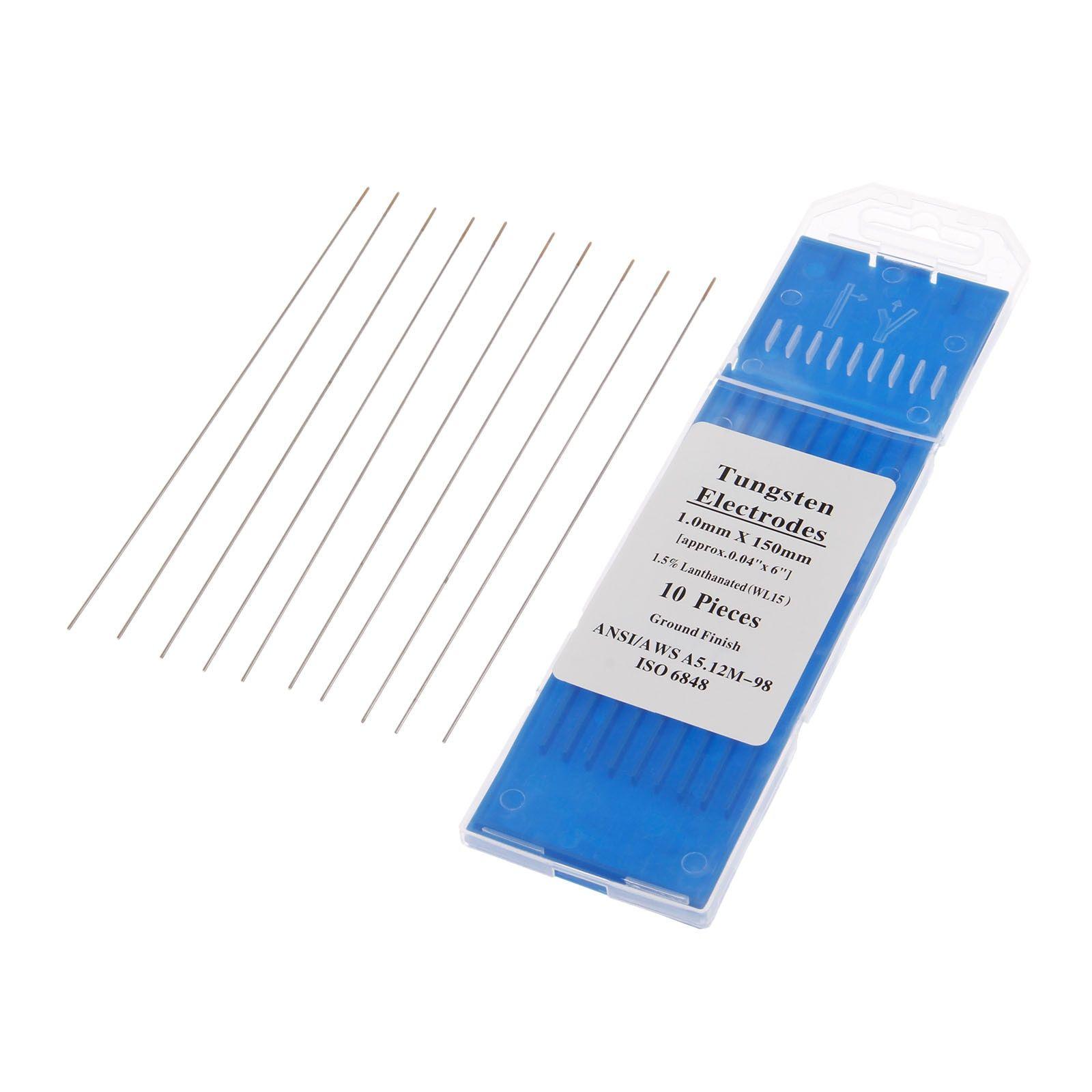 Welding electrodes Aluminum TIG Machine Ceriated tungsten Welding 10pcs