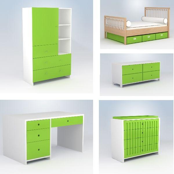 Lime Green Children's Room