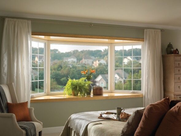 bay window traditional bedroom by ply gem