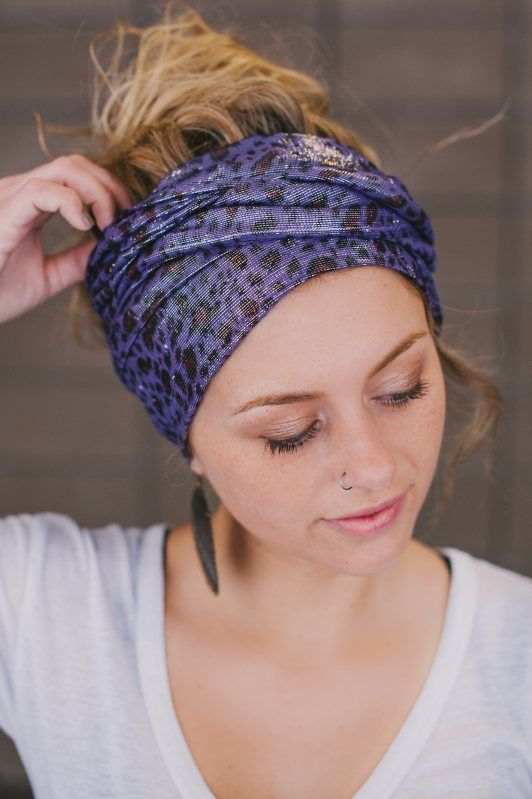 Head Scarf Tying Techniques | Step by step video on how to ...