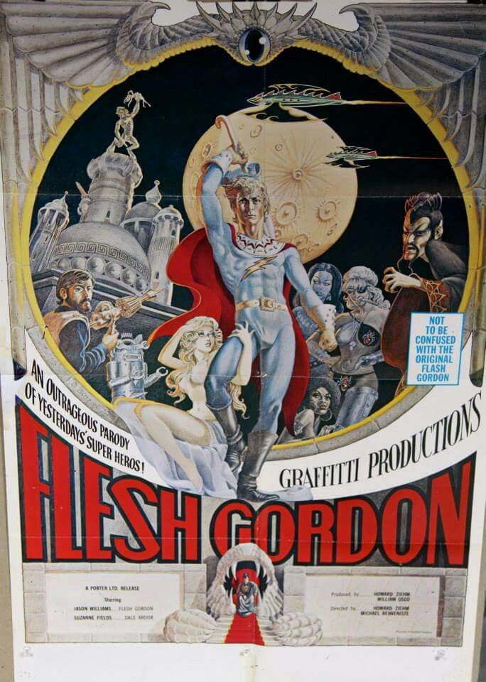 """Not to be confused with """"Flash"""" Gordon..."""