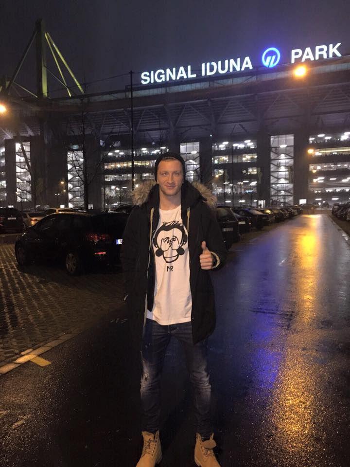 Marco Reus At The Signal Iduna Park Signal Iduna Bvb Dortmund Borussia Dortmund
