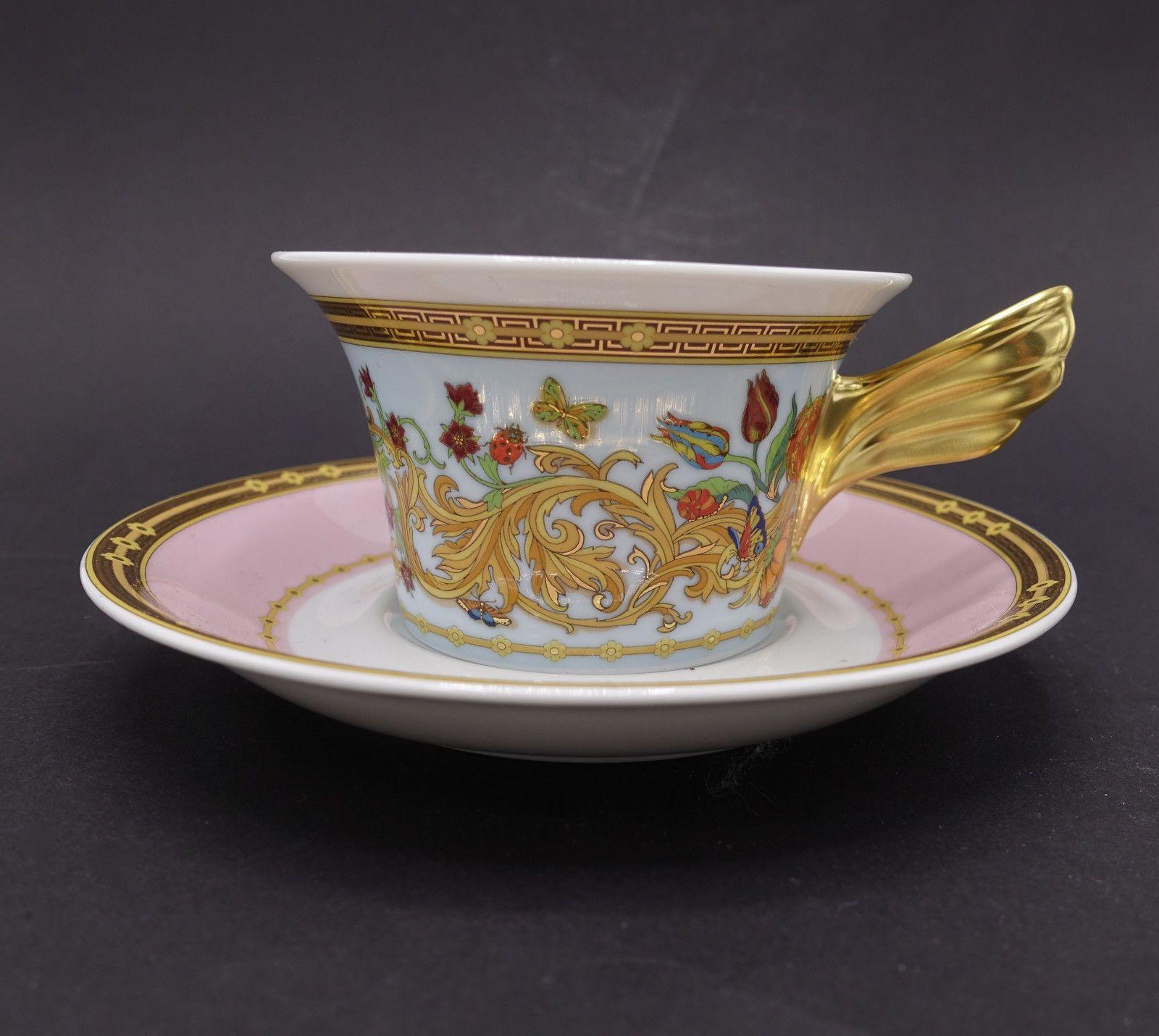 Rosenthal Versace Porzellan Kaffee Tee Kakao Tasse GH 106181 | EBay