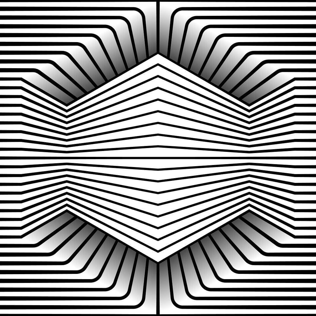 Disegni Geometrici Bianco E Nero pin di santino mosconi su illusioni ottiche (con immagini