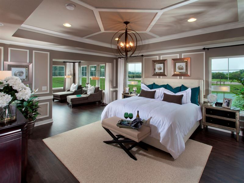 Fishers In New Homes Huge Master Bedroom Master Bedroom Sitting Area Luxurious Bedrooms