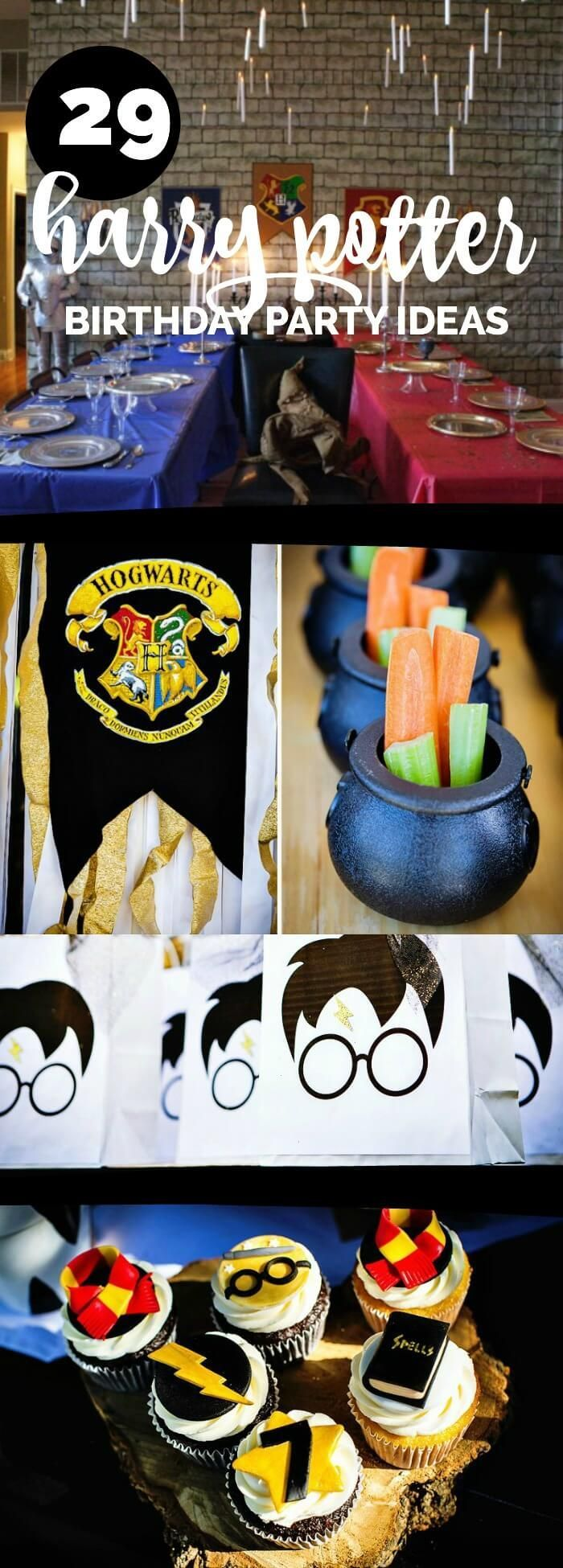 29 creative harry potter party ideas your little harry potter will love harry potter diy 39 s in. Black Bedroom Furniture Sets. Home Design Ideas
