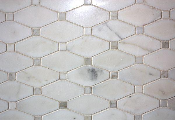Saltillo Long Octagon Calacatta For Shower Floor