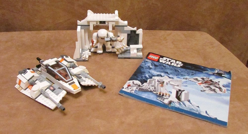 8089 Lego Star Wars Hoth Wampa Cave Complete Instructions Minifigs