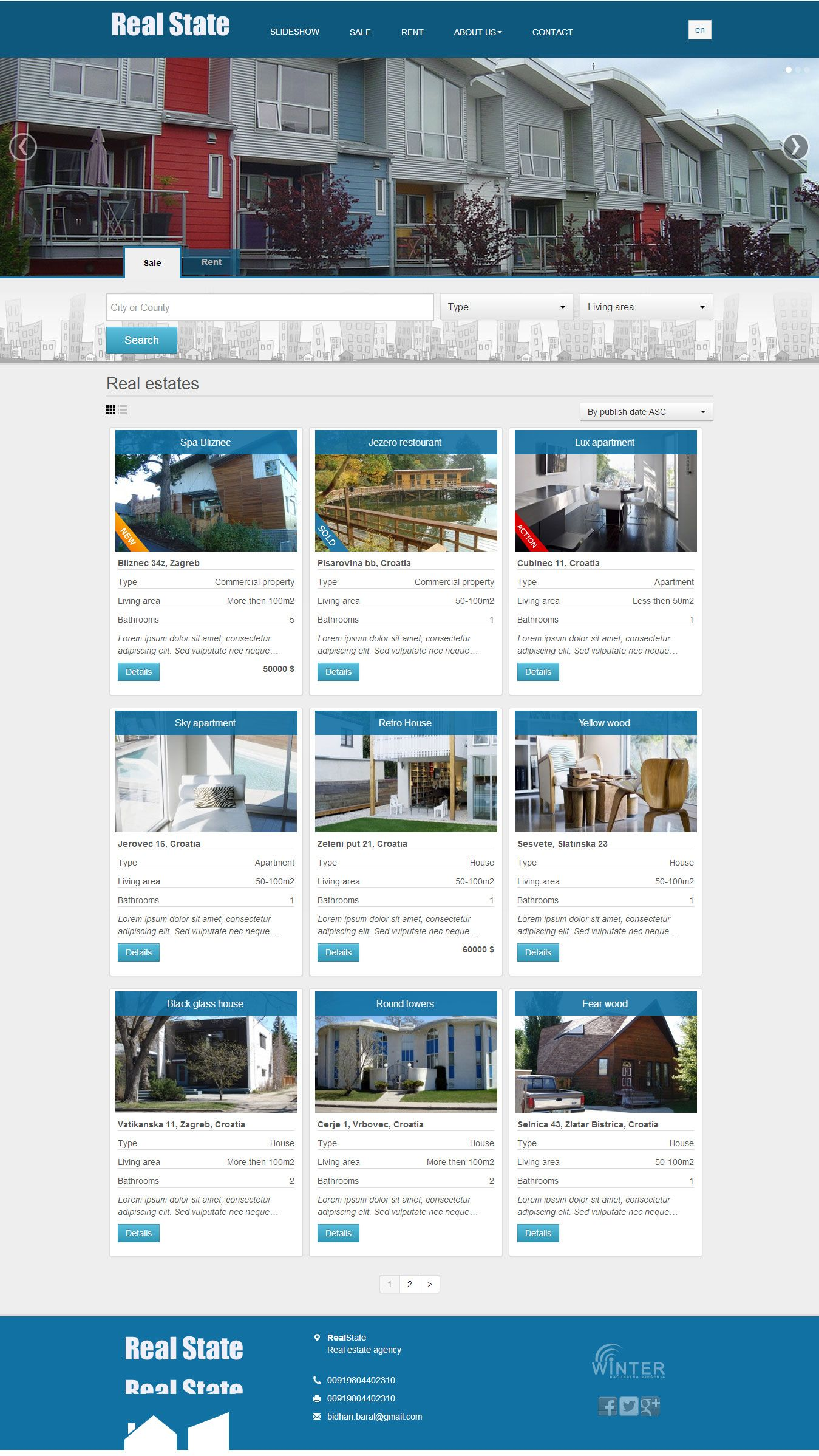 Make Real Estate Wordpress Website With Property Search Features