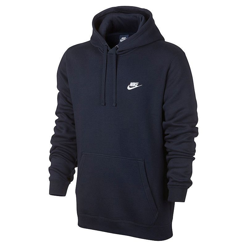 7a4be8375 Men's Nike Club Fleece Pullover Hoodie, Size medium or large. Color  Charcoal or Black