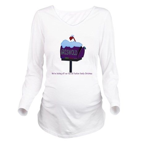 f51e18f2a Long Sleeve Maternity T-Shirt on #National Lampoons Christmas Vacation  Movie #griswolds #clark griswold #cat #christmas #christmas lights #National  Lampoons ...