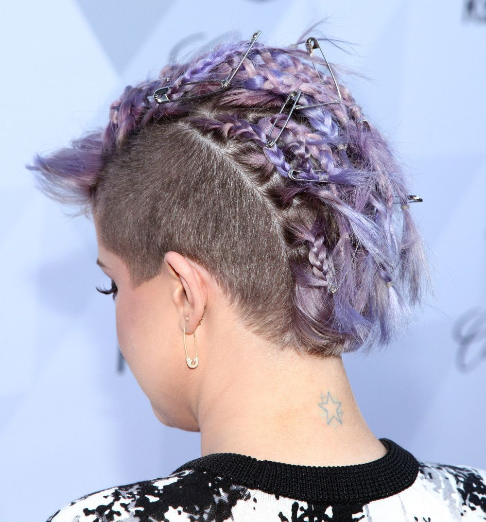 most gorgeous mohawk hairstyles of nowadays kelly osbourne