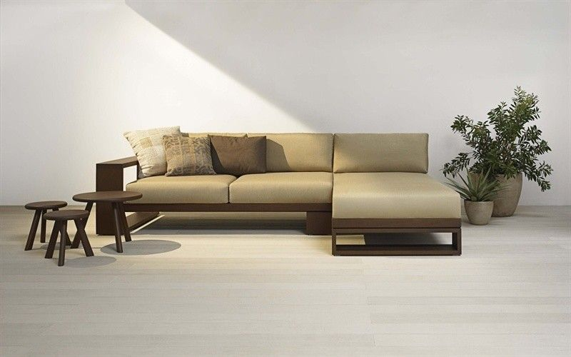 custom long l shaped wood sofa google search room
