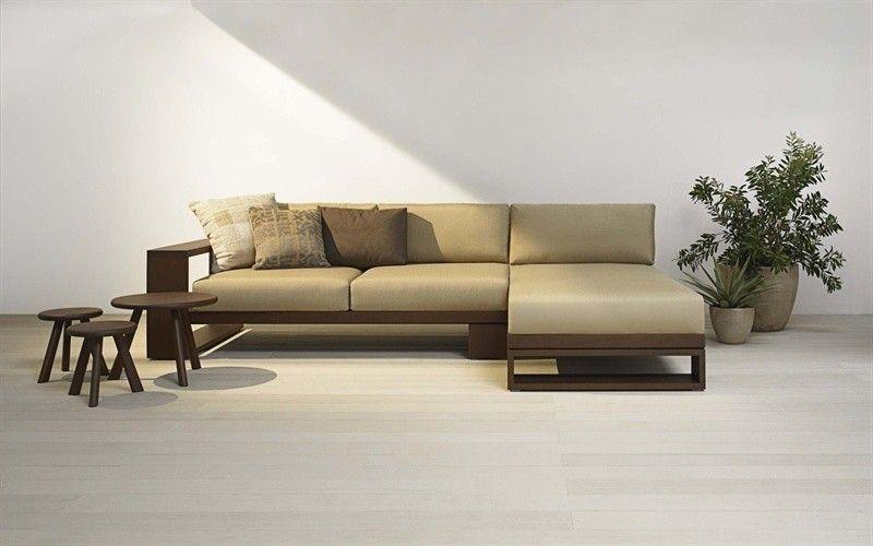 Custom Long L Shaped Wood Sofa Google Search L Shaped Sofa L