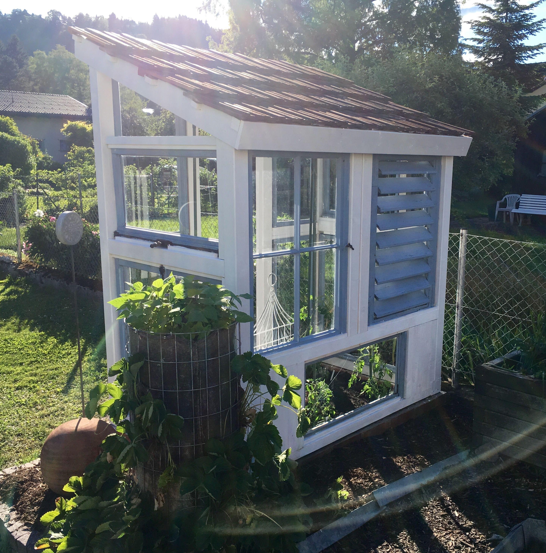 Tomatenhaus aus alten Fenstern Tomaten haus, Tomatenhaus