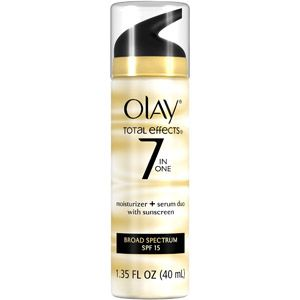 Olay Total Effects 7 in One Moisturizer + Serum Duo with Sunscreen, SPF 15, 1.35 oz