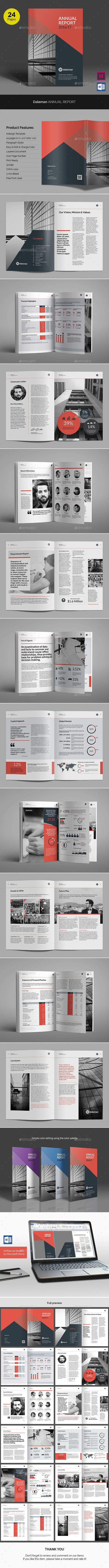 Dalemen Annual Report  Annual Reports Brochures And Template