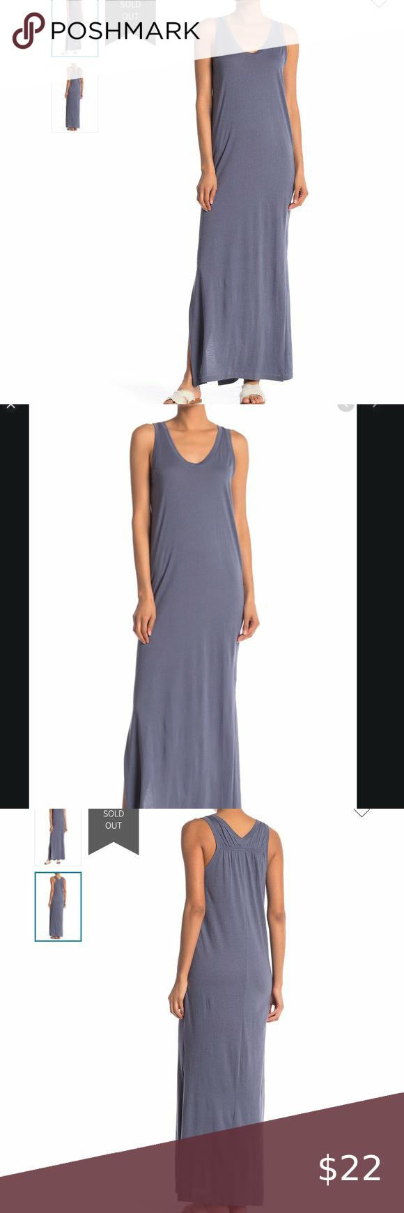 Susina Cinch Back Tank Top Maxi Dress Gray Nwt Xsp In 2021 Top Maxi Dresses Grey Maxi Dress Dress Size Chart Women [ 1740 x 580 Pixel ]
