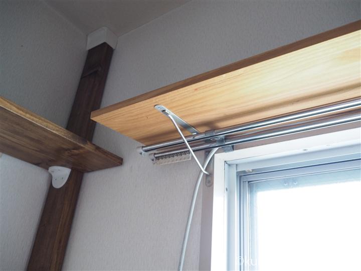 カーテンレールの上に板を取り付け 2020 カーテンレール 天井