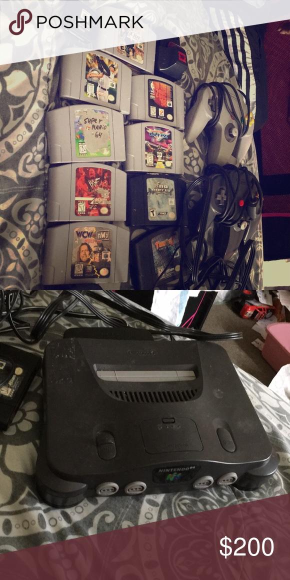 Nintendo 64 , games &much more Nfl blitz, Nintendo 64