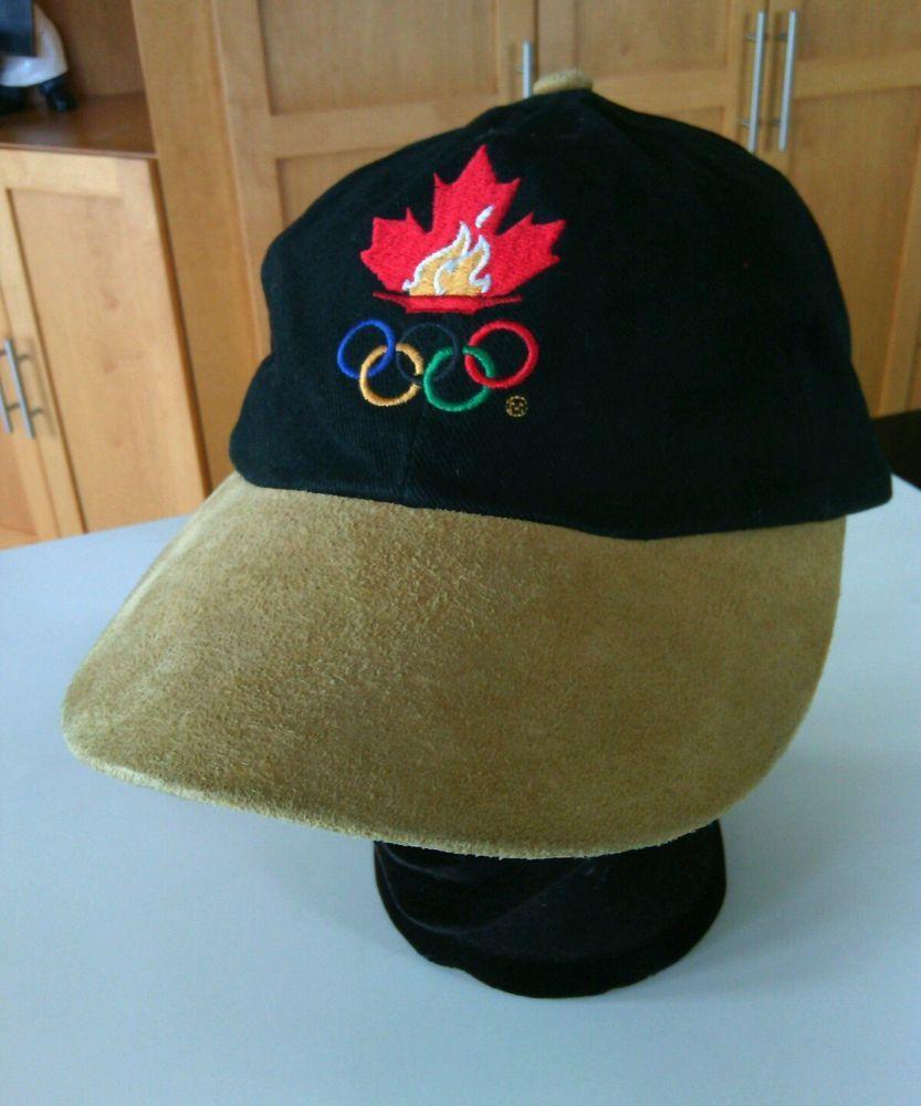 7baf26b9940 1996 Atlanta Olympics Official Baseball Cap Adjustable Hat Canadian Size  Games