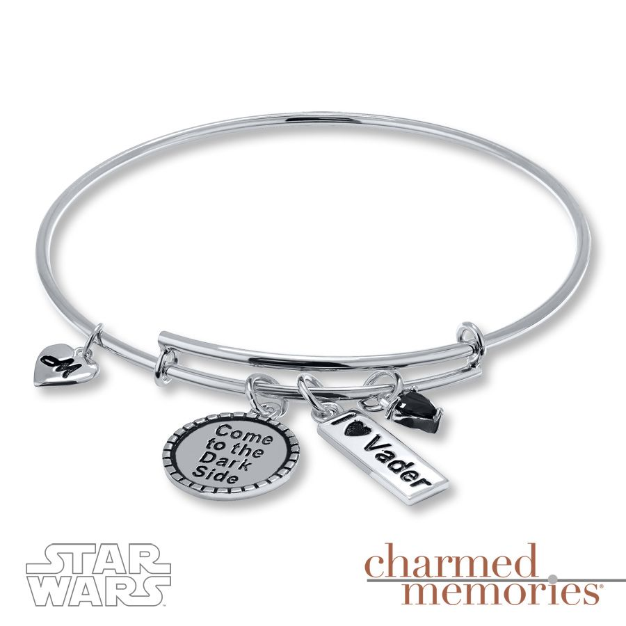 Charmed Memories Star Wars Bracelet Charmed Memories Sterling Silver oiHOC