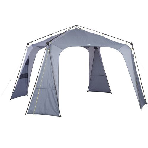 Ozark Trail Instant Octagon Canopy. Can be put up by one person.