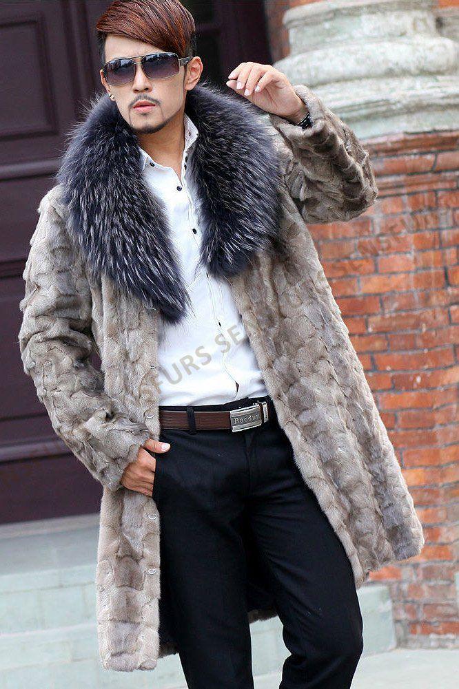 Russian Siberian Sable lines coat man furs #anadco #furonline ...