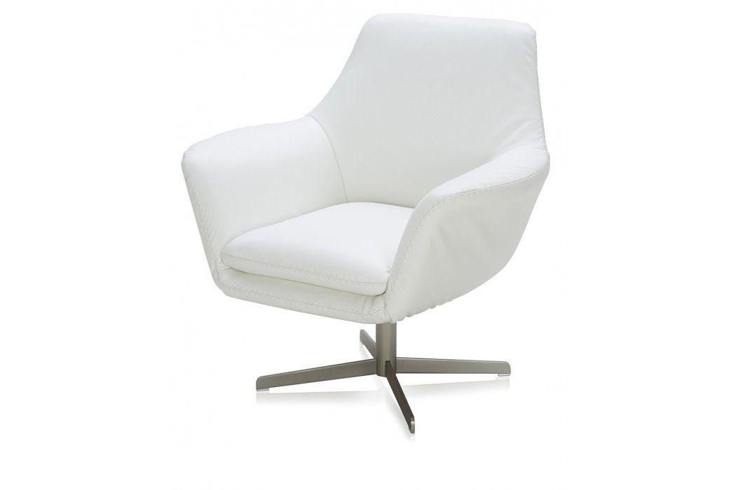 revolving chair thames fishing rod rest modani mid century swivel leather allmodern home