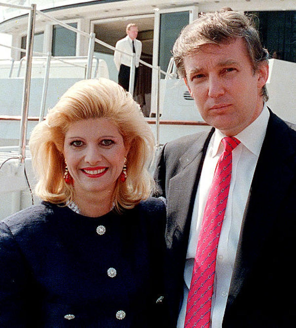 Ivana Trump says he raped her during divorce in 1989.