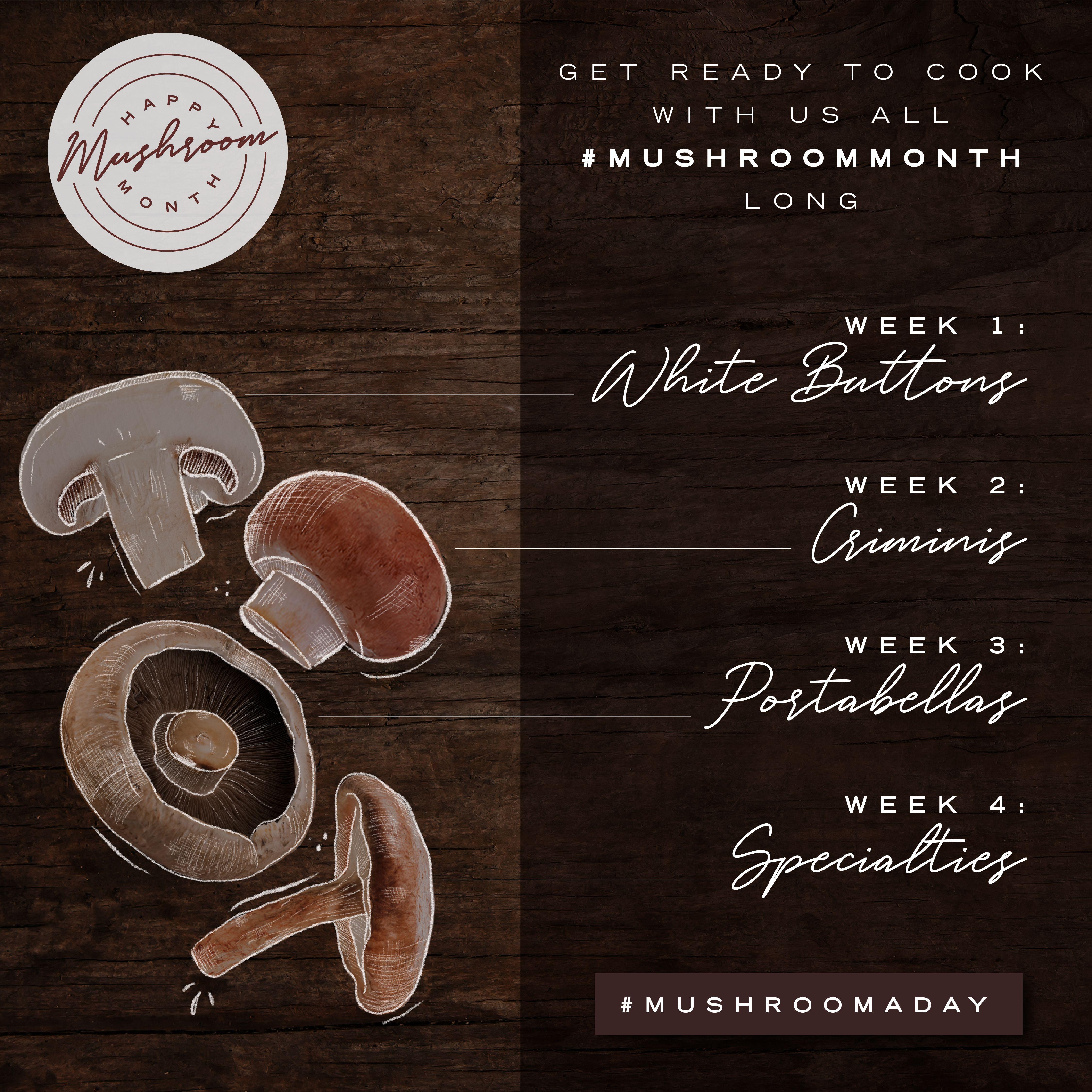 Mushroom Month 2020 Is A Go Mushroom Council Champignons Farcis