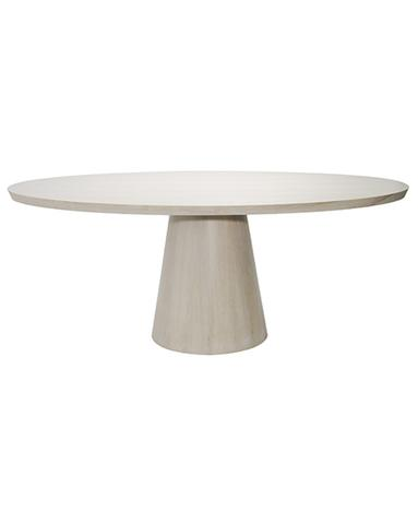 Preston Oval Dining Table Cerused Oak Oval Table Dining Oval