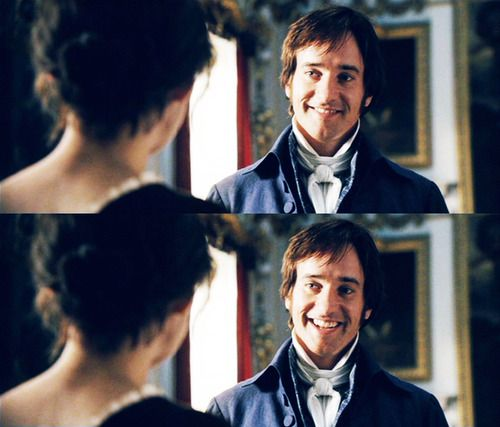 pride and prejudice... sweet mercy that face... I love that face. I can't even...