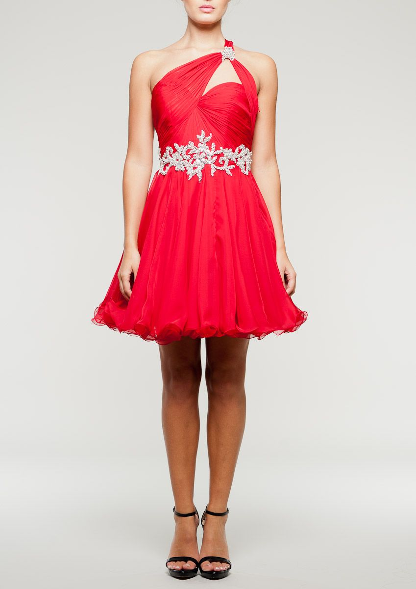 Forever unique prom dress chrissi red prom dresses pinterest