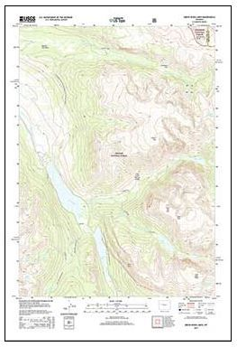 Newly released US Topo maps for Wyoming | GIS, Maps Geo Technology ...
