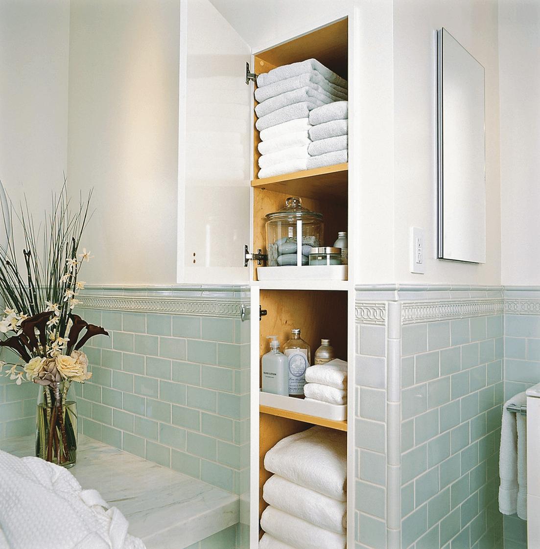 44 Unique Storage Ideas For A Small Bathroom To Make Yours Bigger Best Small Bathroom Organization Design Ideas