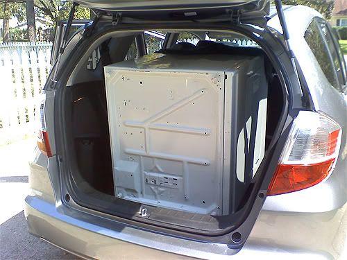 Full Sized Dryer Honda Fit Small Cars Honda