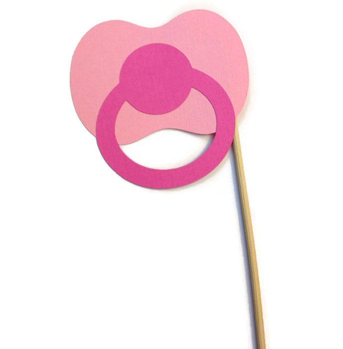 Pacifier Photo Booth Prop Baby Shower Photo Booth Prop   Ideas ...