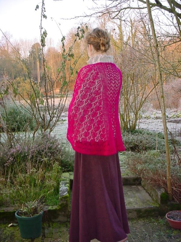 All Over Lace Faroese Shawl   Tricofolk