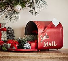 This is a Pottery Barn item, but I plan to make my own version for my vignette this year!