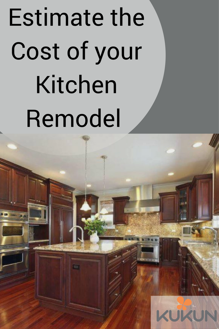 Estimate The Cost Of Your Kitchen Remodel Kitchen Remodel Remodel - Estimate cost of kitchen remodel