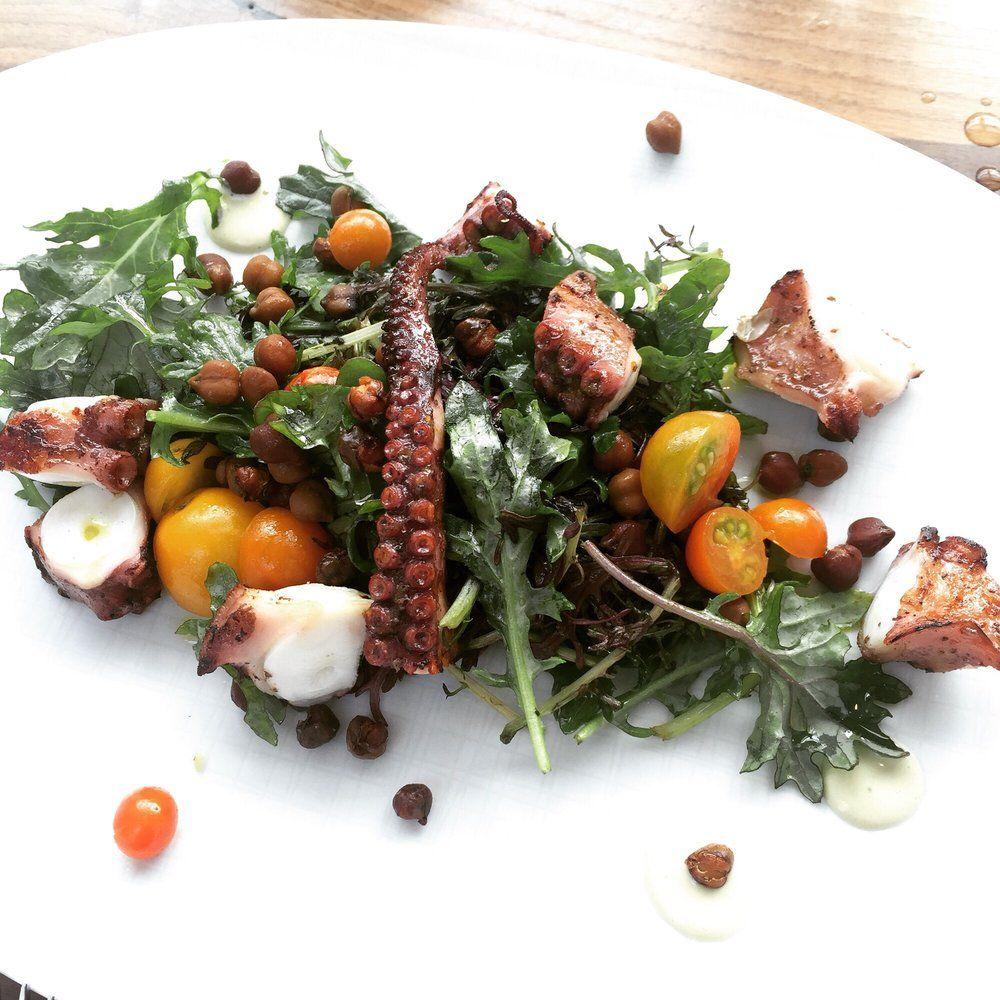Redbird - Los Angeles, CA, United States. Amazing octopus salad