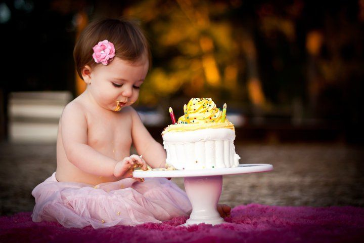 what a cute idea for first birthday!