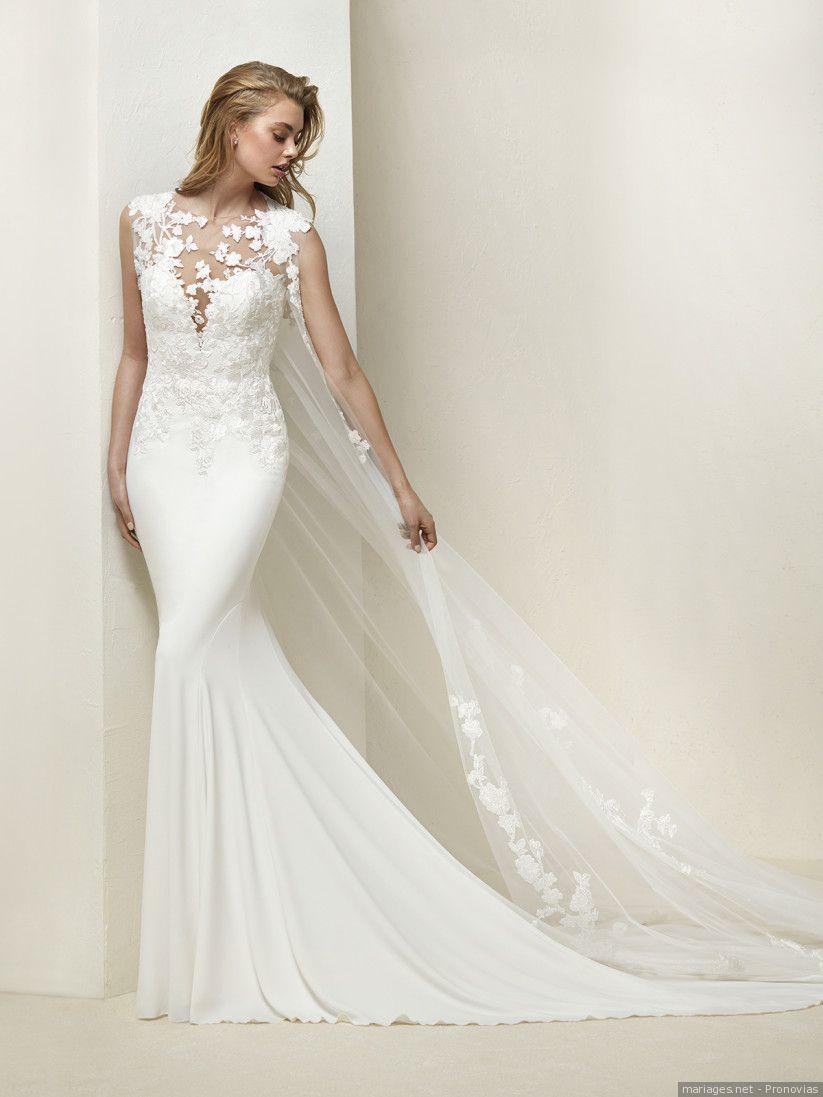 Pronovias 2018   une collection de robes de mariée tout en lumière ... ec344b0c9a4