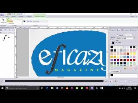 PE DESIGN NEXT 10 - Desenhando Logotipo em matriz. - YouTube ... 7560f028565