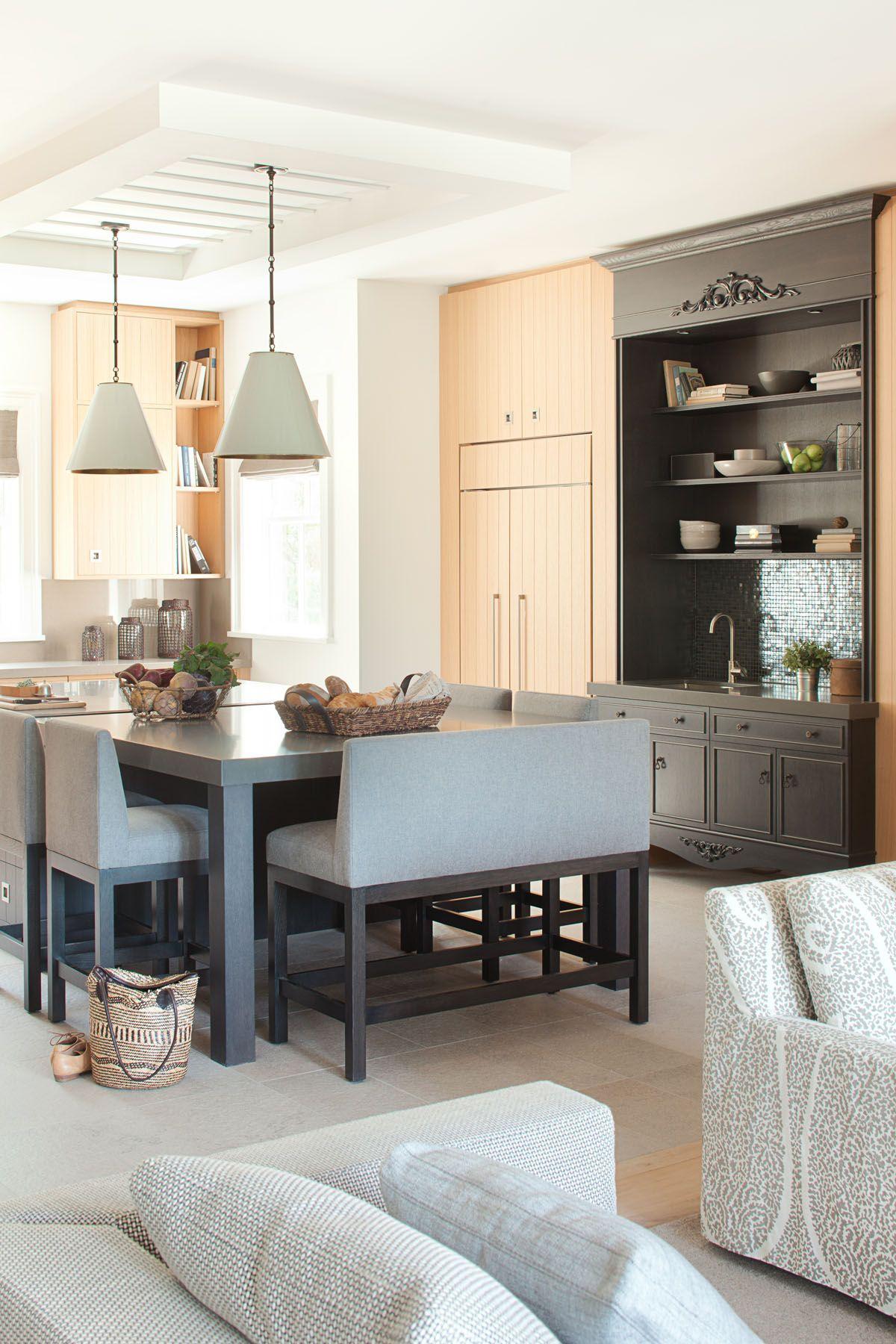 Küchenideen offen lorailstyle  wohnen  pinterest  haus einrichtung und bank esszimmer