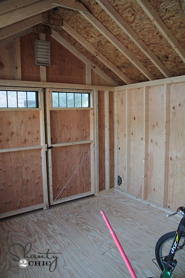 Garden Sheds Inside my new storage shed | sheds, we and the o'jays