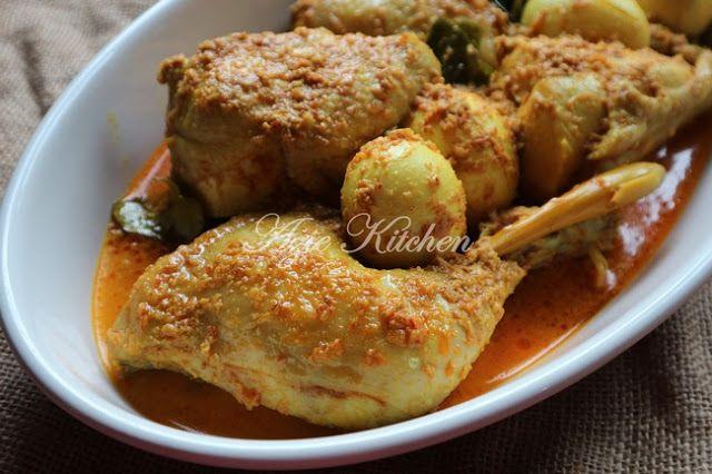 Kalio Ayam Masakan Minang Yang Sedap | Masakan, Ayam